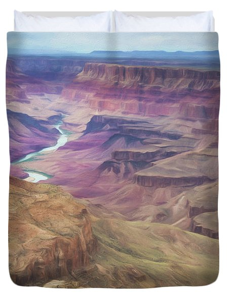 Grand Canyon Suite Duvet Cover