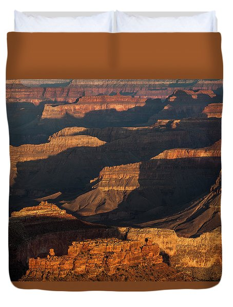 Grand Canyon Sunrise Duvet Cover