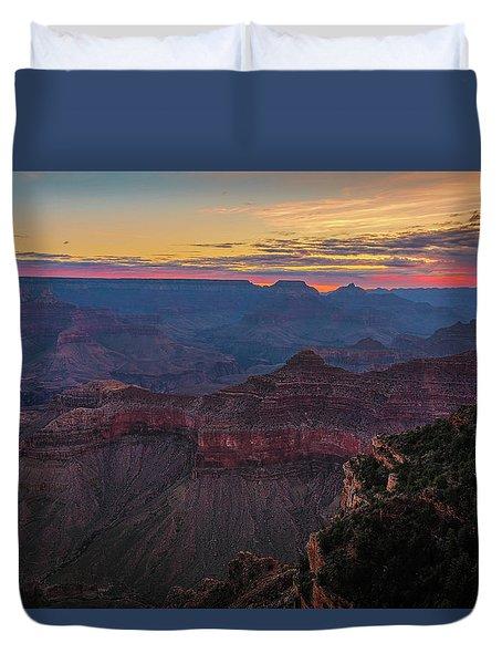 Grand Canyon Sunrise Duvet Cover
