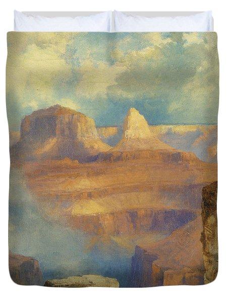 Grand Canyon Duvet Cover by Thomas Moran