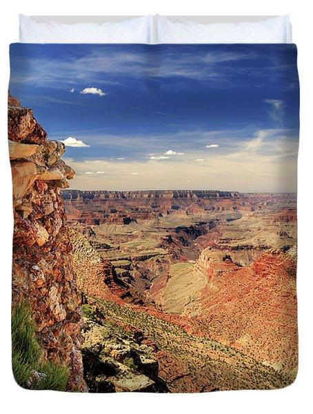 Grand Canyon Wall Duvet Cover