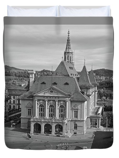 Grand Casino Bern Duvet Cover