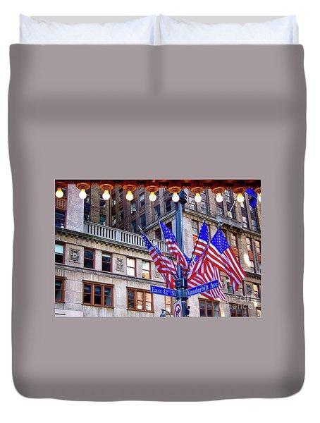 Grand Central Teminal 42nd Street And Vanderbilt Ave New York Ci Duvet Cover