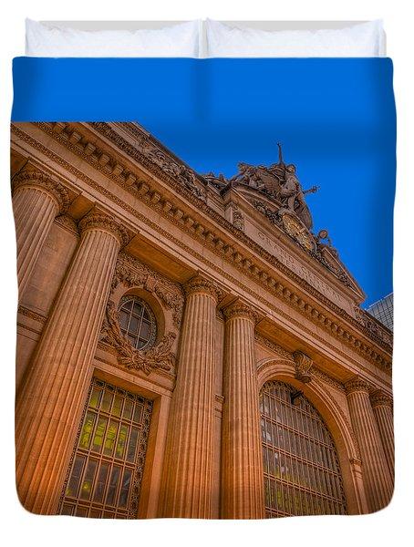 Grand Central Terminal - Chrysler Building Duvet Cover