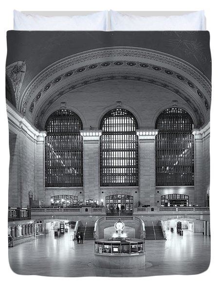 Grand Central Terminal II Duvet Cover by Clarence Holmes
