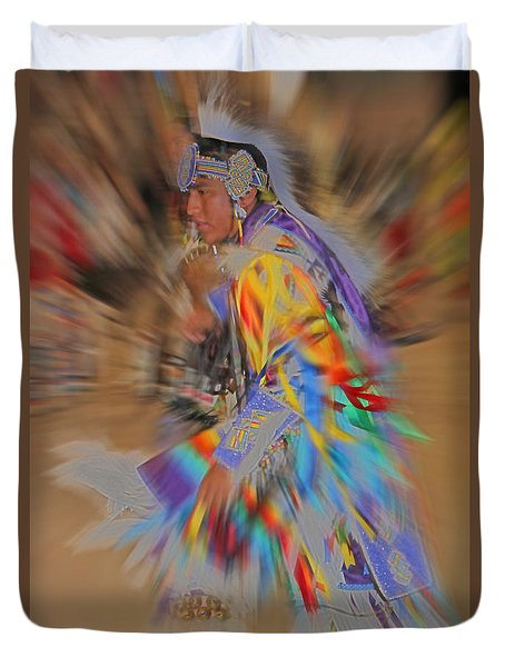 Grand Entry Moves Duvet Cover