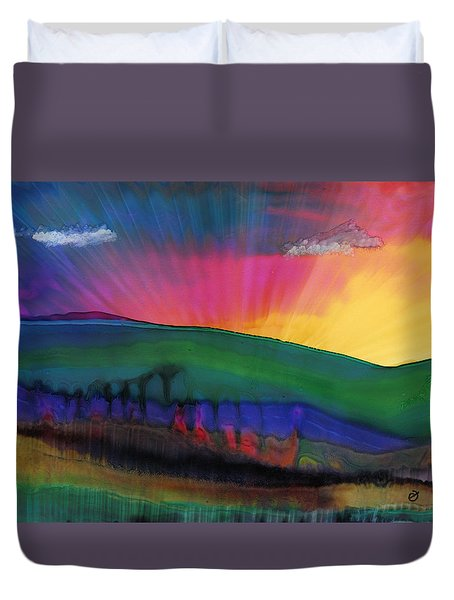 Grand Illusion Duvet Cover