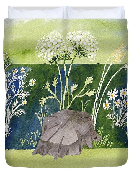 Grand Ladies Of The Field Duvet Cover