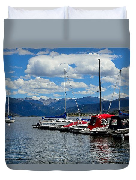 Grand Lake And Indian Peaks Wilderness Duvet Cover