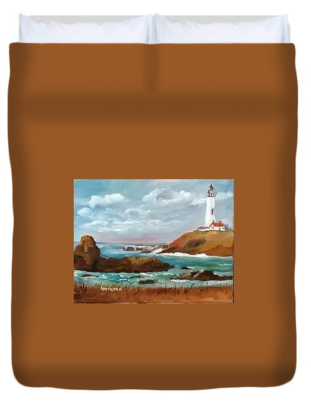 Grand Lighthouse Duvet Cover