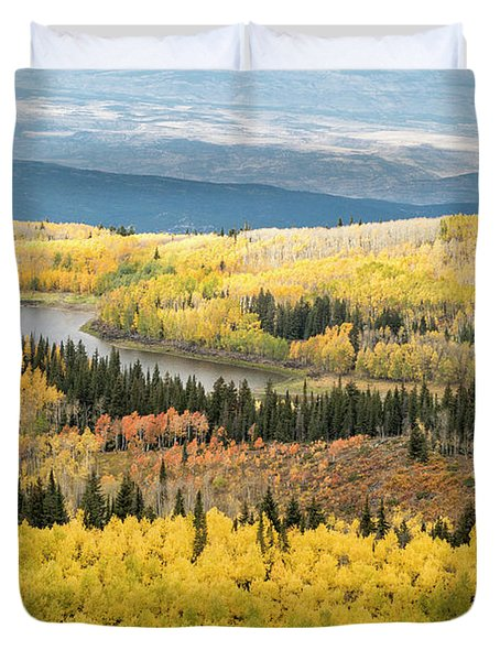Grand Mesa View Duvet Cover