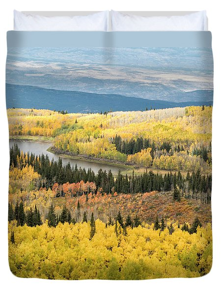Grand Mesa View Duvet Cover