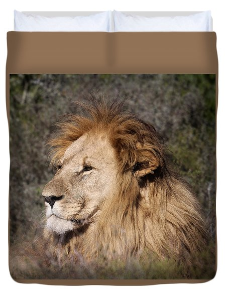 Grand Old Man Duvet Cover