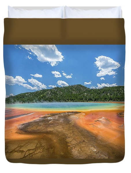 Grand Prismatic Duvet Cover