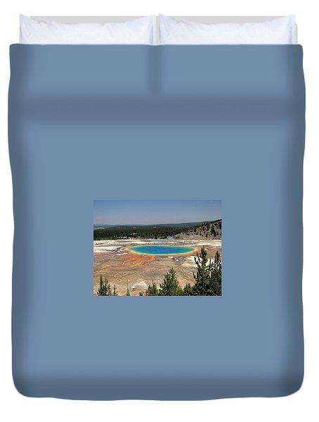 Grand Prismatic Duvet Cover