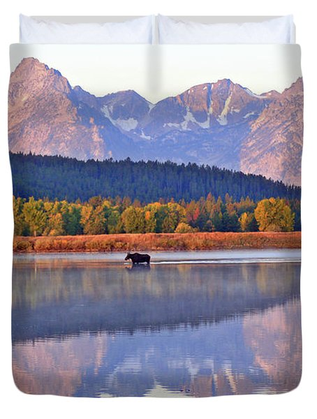 Grand Reflections Duvet Cover