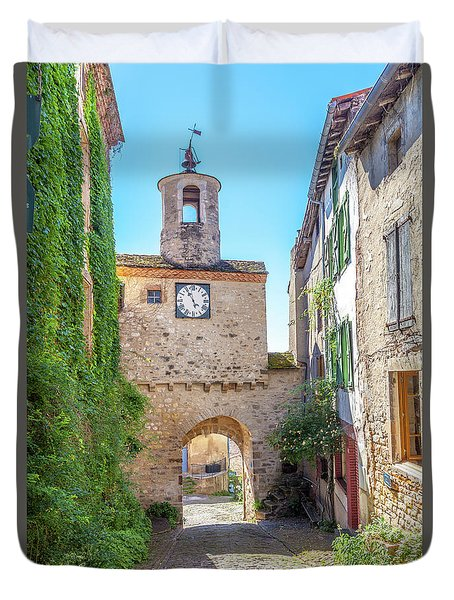 Grand Rue De Lhorloge  Duvet Cover