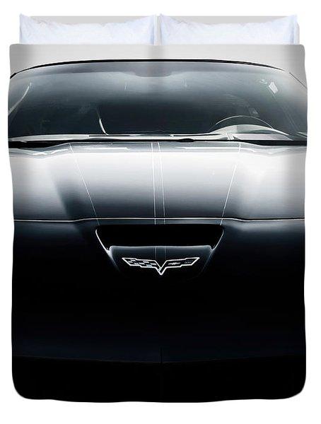 Grand Sport Corvette Duvet Cover by Douglas Pittman