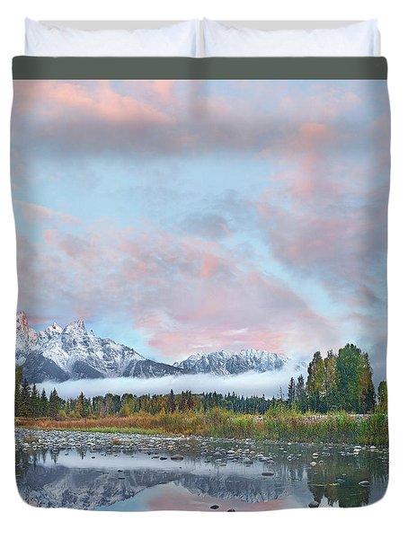 Grand Teton National Park, Wyoming Duvet Cover