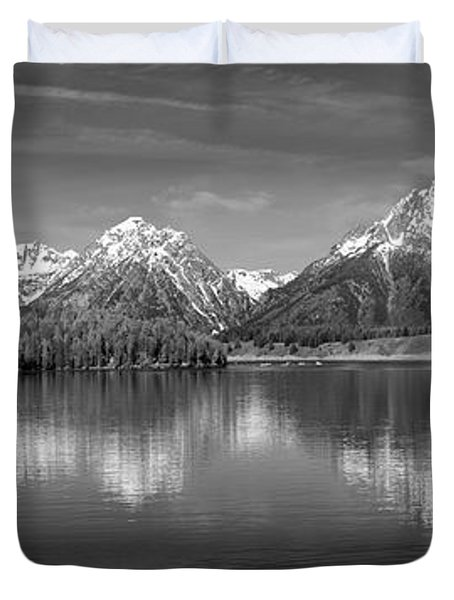 Grand Teton Tranquility Duvet Cover