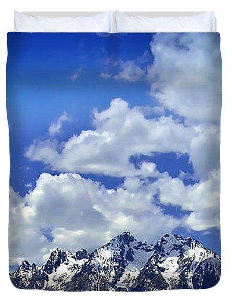 Grand Tetons Duvet Cover