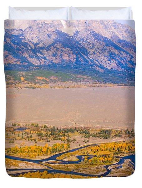 Grand Tetons Views Duvet Cover by James BO  Insogna