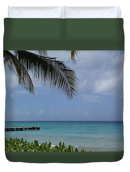 Grand Turk Duvet Cover by Lois Lepisto