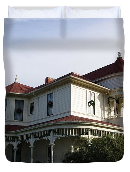 Grand Victorian Mansion  Duvet Cover