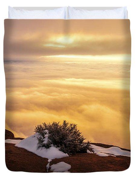 Grand View Glow Duvet Cover