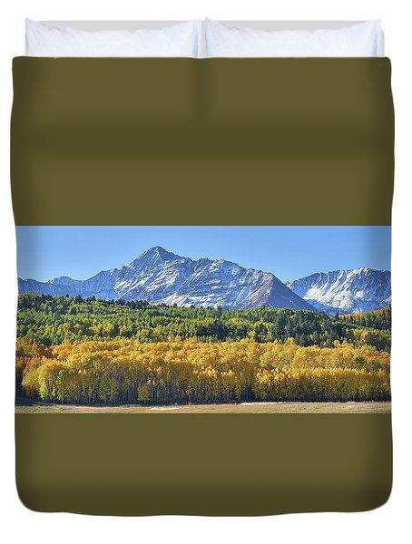 Grand Wilson Mesa Landscape Duvet Cover