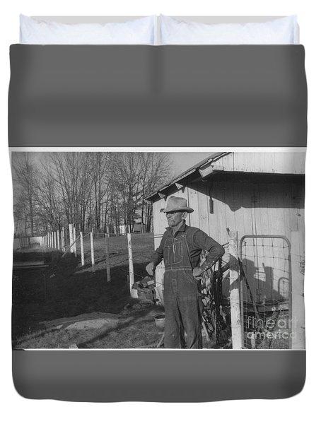 Granddaddy Clyde Duvet Cover