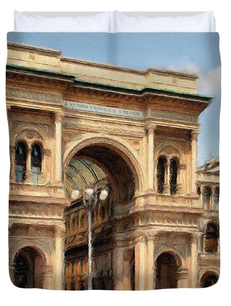 Grande Ingresso Duvet Cover by Jeff Kolker
