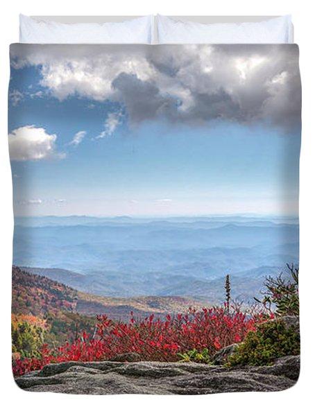 Grandfather Mountain Panorama 02 Duvet Cover