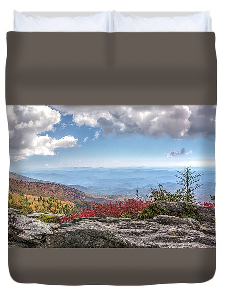 Grandfather Mountain Panorama 02 Duvet Cover
