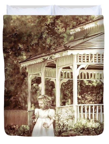 Grandmas' Garden Duvet Cover