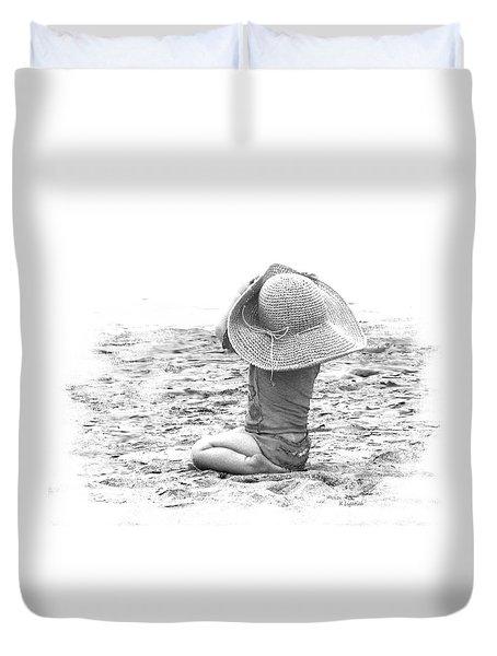Grandma's Hat Duvet Cover