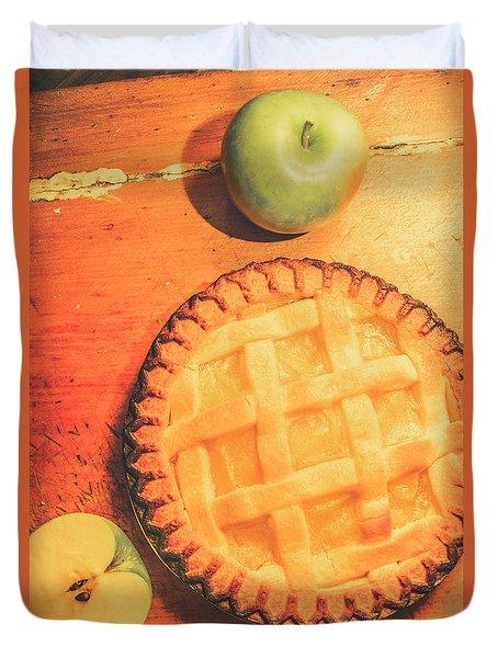 Grandmas Homemade Apple Tart Duvet Cover