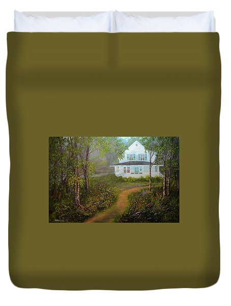 Grandma's House Duvet Cover