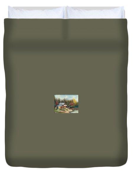 Grandpa's Cabin Duvet Cover
