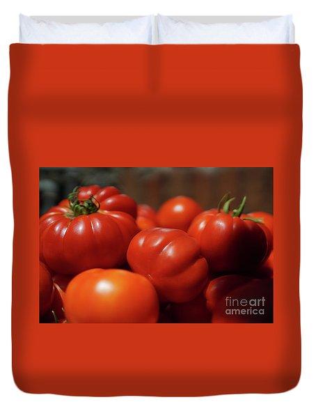 Grandpas Tomatoes Duvet Cover