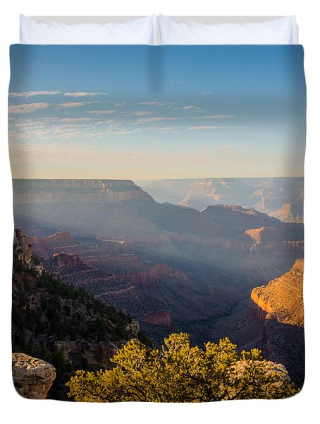 Grandview Sunset - Grand Canyon National Park - Arizona Duvet Cover