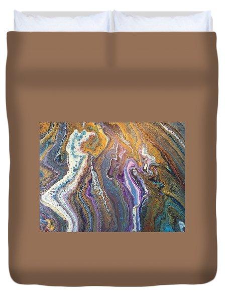 Granite Flow Duvet Cover