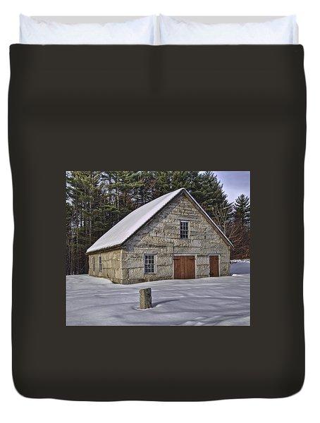 Granite House Duvet Cover