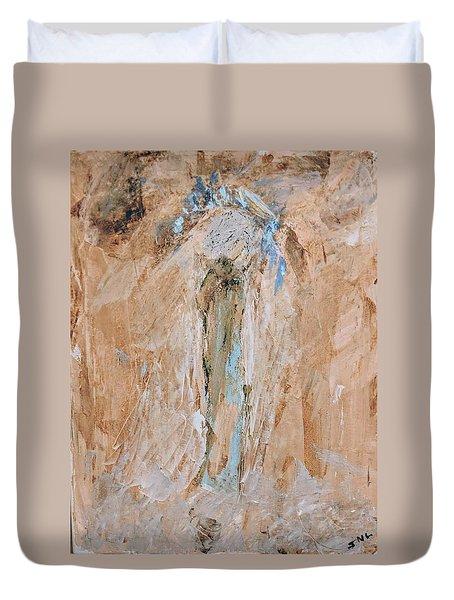 Granny Angel Duvet Cover