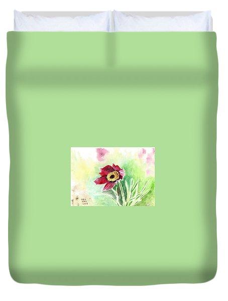 Granny Flower 2 Duvet Cover