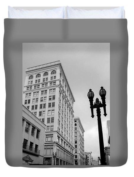 Grant Avenue Duvet Cover