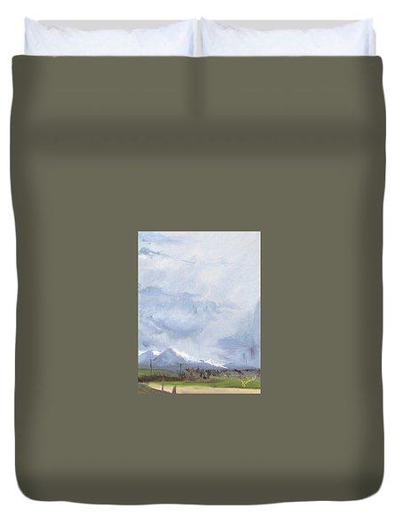 Grantsville Skies Duvet Cover