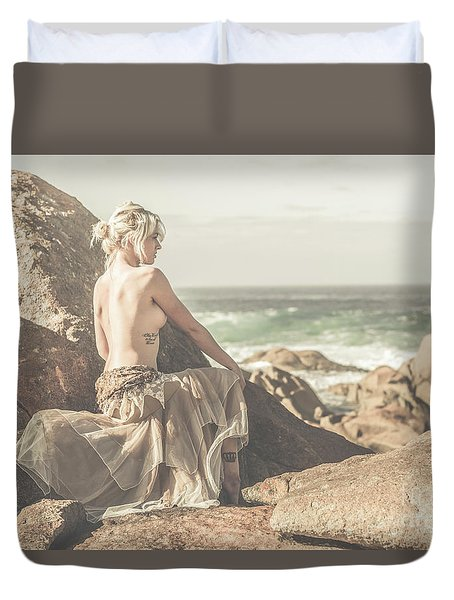 Granville Harbour Tasmania Fine Art Beauty Portrait Duvet Cover