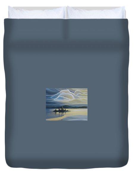 Grape Island Duvet Cover