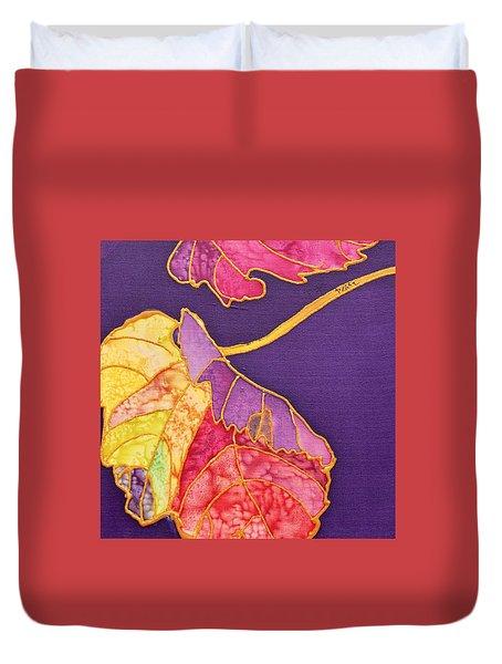 Grape Leaves Duvet Cover